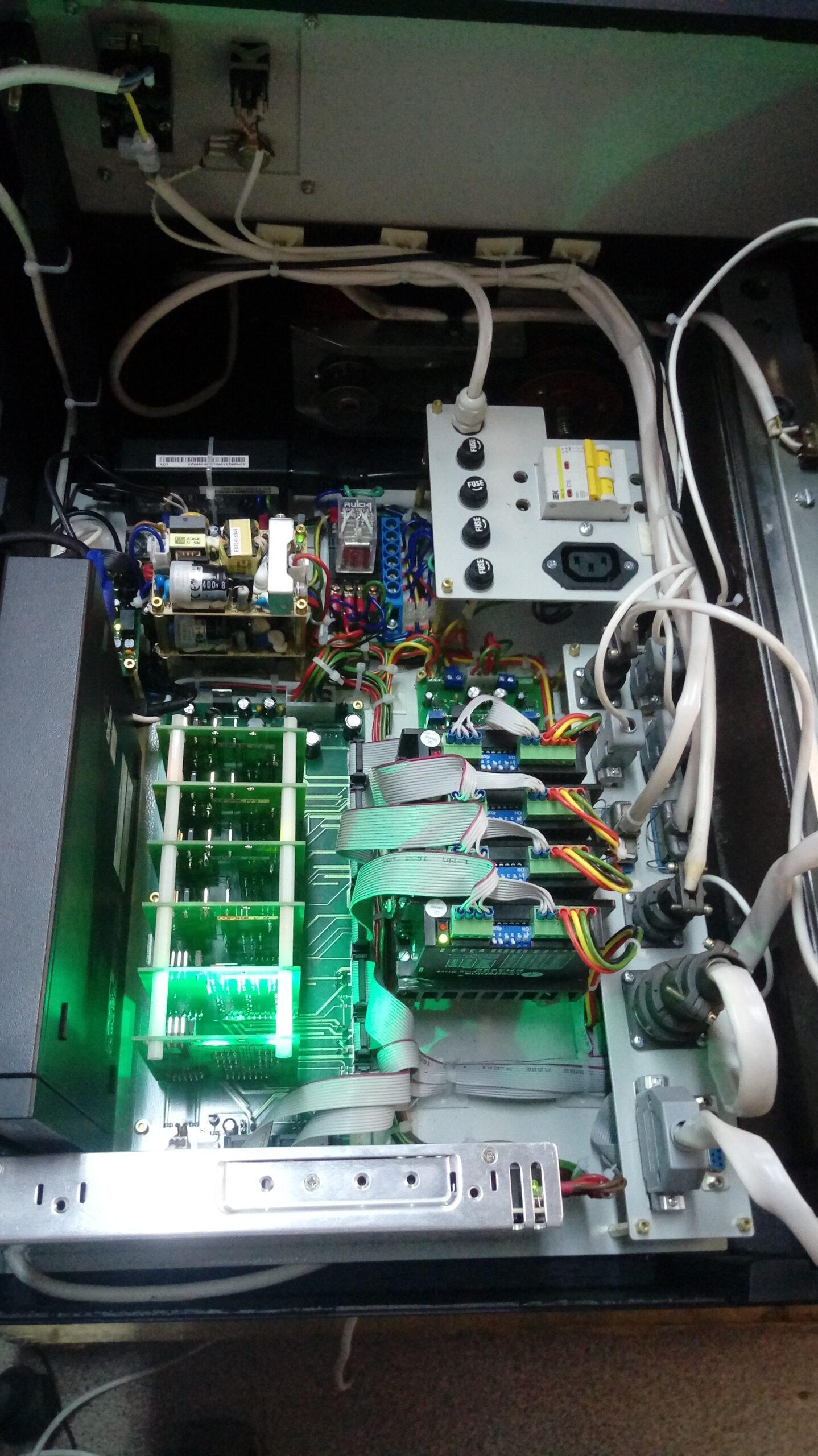Новая система управления «ЭМ-225»