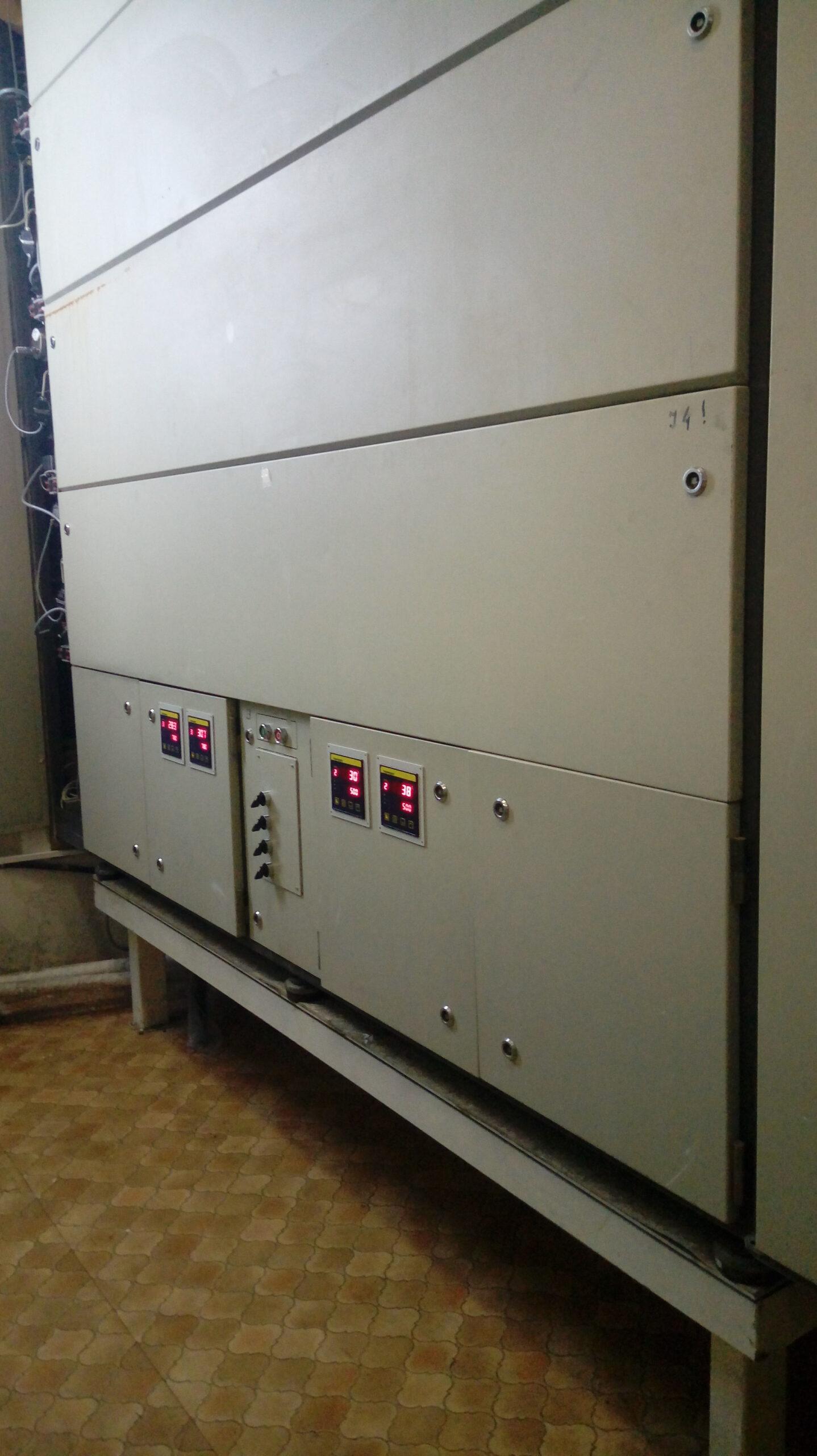 Управление нагревом ASM