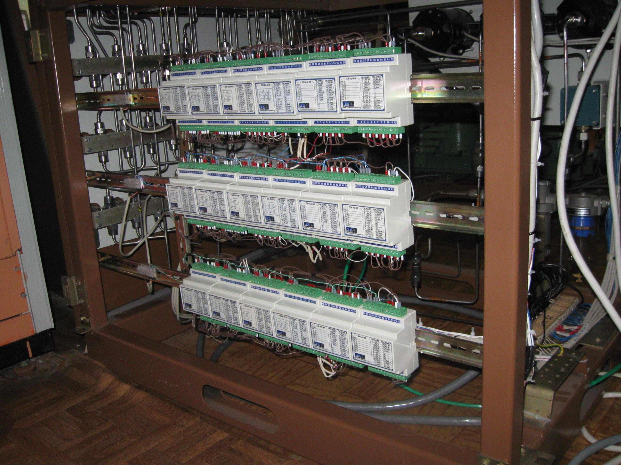 Управление РРГ и клапанами «HCVD-55»